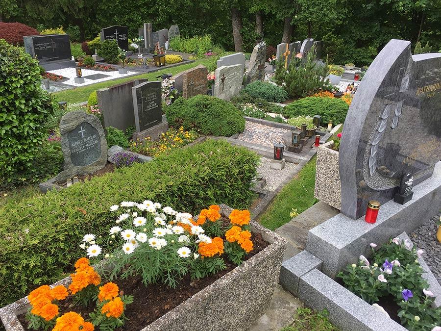 Grab Herrichten Nach Beerdigung